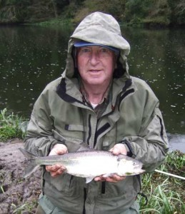 Eric Gosnell, Co.Cork, with Shad