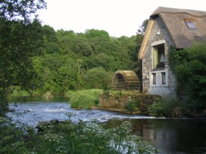 Mill house, River Slaney, Clonegal