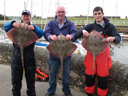 Members of Courtown SAC with Thornies