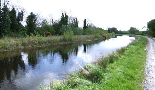 View of the Royal Canal, Ireland
