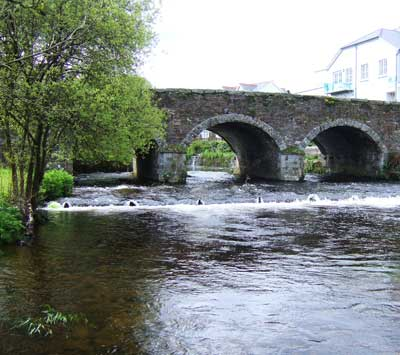 Lower weir, Aughrim, Co. Wicklow