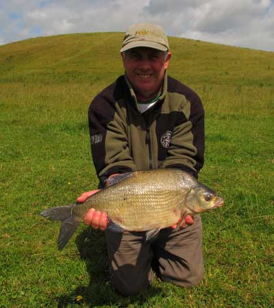 Peadar O'Brien with a fine County Monaghan, Ireland bream.
