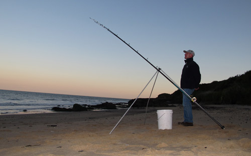 Evening fishing, Co. Wicklow.