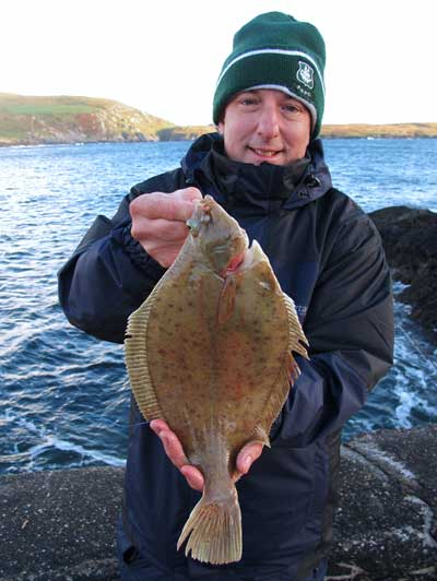 Specimen Beara peninsula Dab for Dave Hoskins.