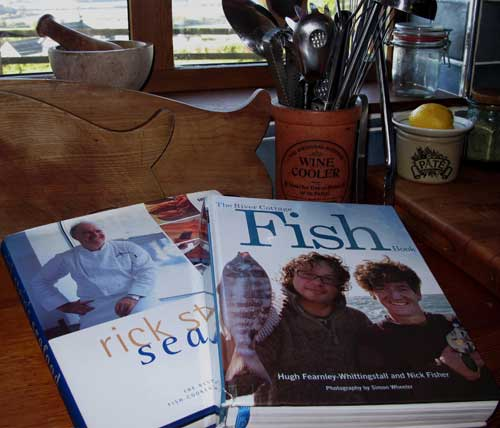 Two seafood cookery books which will grace any kitchen.