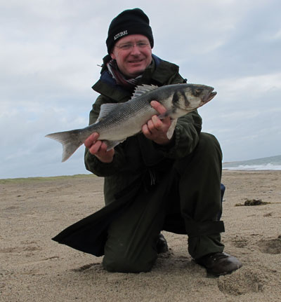 A plump four pounder from a south Wexford shore.