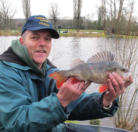 A large River Barrow Perch for angler Ian Warburton.