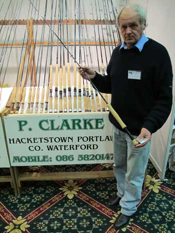 Paddy Clarke, a high class rod maker from Co. Waterford.