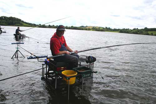 All Ireland match fishing, Lough Muckno, Co. Monaghan.