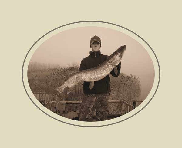 Twenty one pounds eight ounces of County Monaghan shore pike.