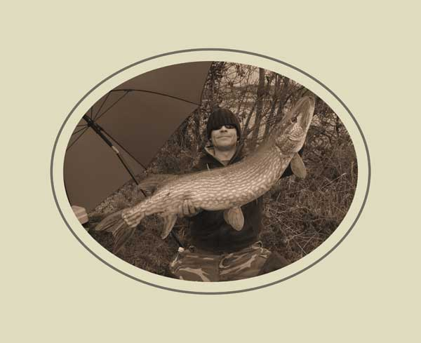 Twenty pounds plus of County Cavan pike for Scott Ring.