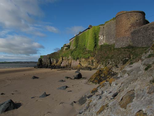 Duncannon Fort, South Wexford, Ireland.