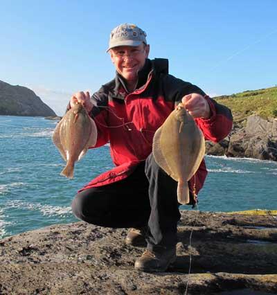 A dab double header from the Beara Peninsula, West Cork, Ireland.