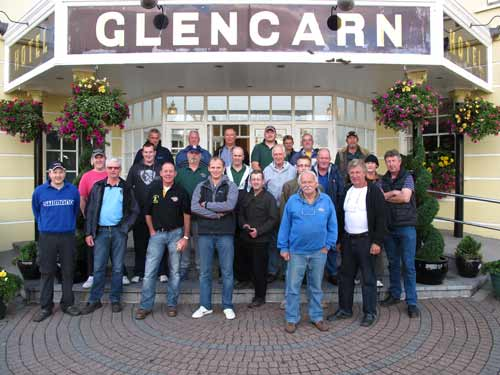 A group of Dutch coarse anglers who have subsequently made a return visit to Co. Monaghan, Ireland.