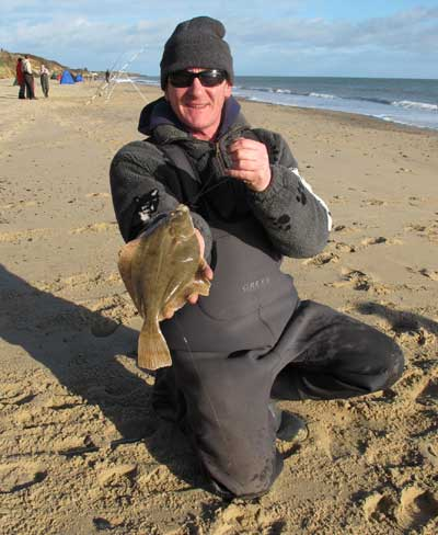 Top Irish match angler Ian Knight sports a Clone strand flounder.