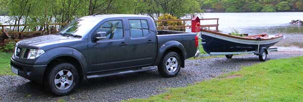 Navara 4 x 4 pick up.