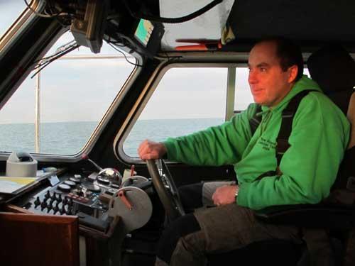 LISIN 1 skipper Kit Dunne.