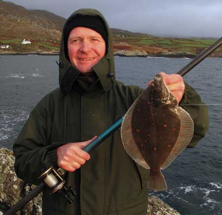 A plump plaice from a secret mark.