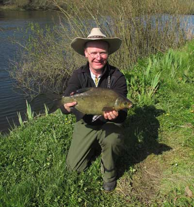 A River Barrow bream.