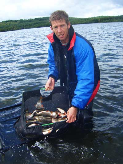 Brian Bohan, Irish coarse and pike angling guide.