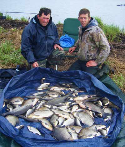 Come to Ireland for a coarse fishing haul like this.
