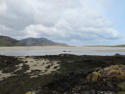 Loughros Bay looking south west towards Maghera strand.