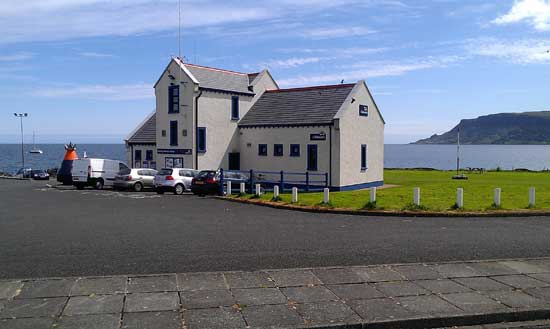 Redbay, Co. Antrim, RNLI station.