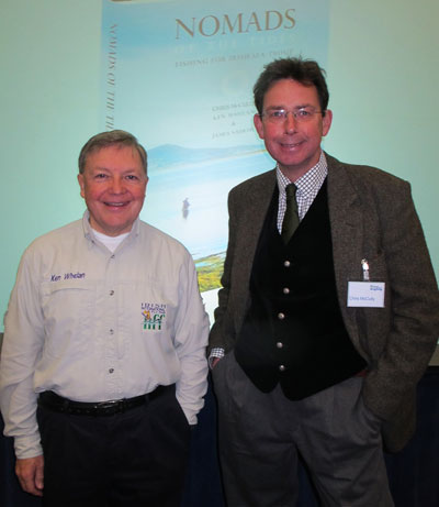 Nomads of the Tides authors (L - R) Ken Whelan and Chris McCully.