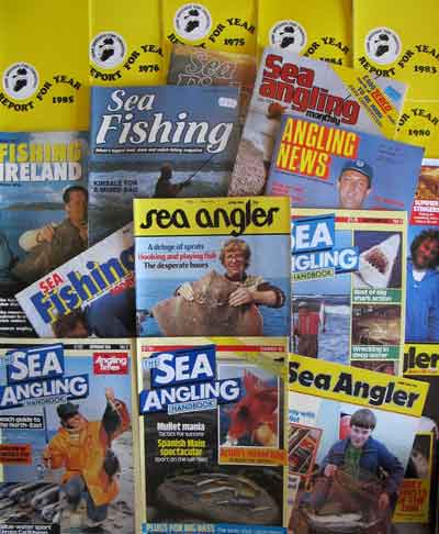 Archive sea angling publications.