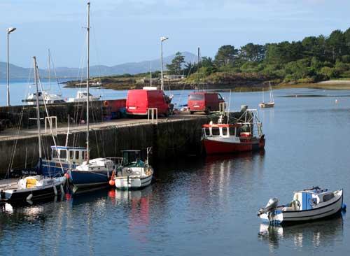 Ahakista harbour, Sheeps Head, West Cork, Ireland.