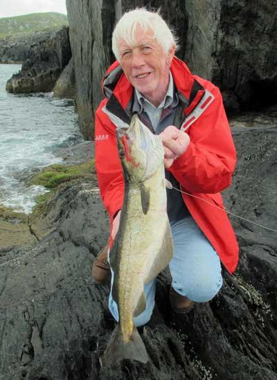 A cracking Beara pollack for UK angler Keith Kendall.