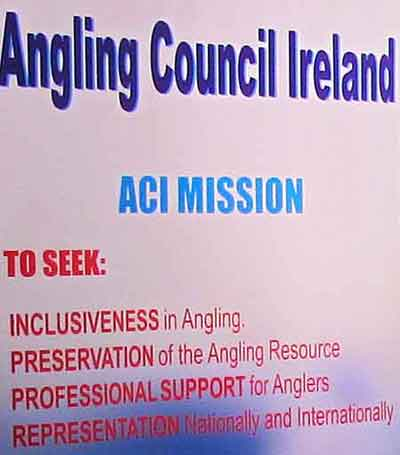 Angling Council of Ireland, Mission Statement.
