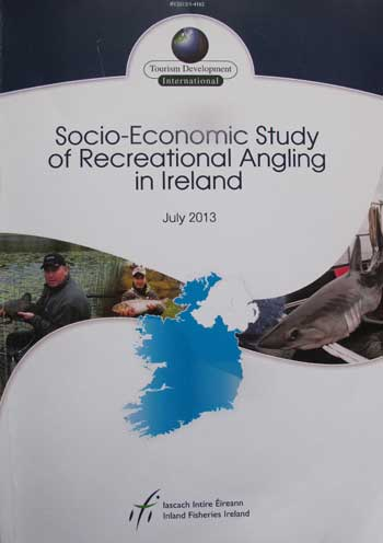 TDI socio - economic report on Irish Recreational Angling, 2013.