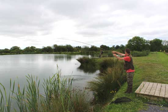 Ardaire Trout Fishery, Mooncoin, Co. Kilkenny, Ireland.