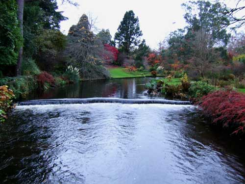 River Vartry, Mount Usher Gardens, Co. Wicklow, Ireland.
