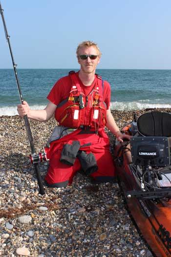 Gary Robinson, kayak angler extraordinaire.