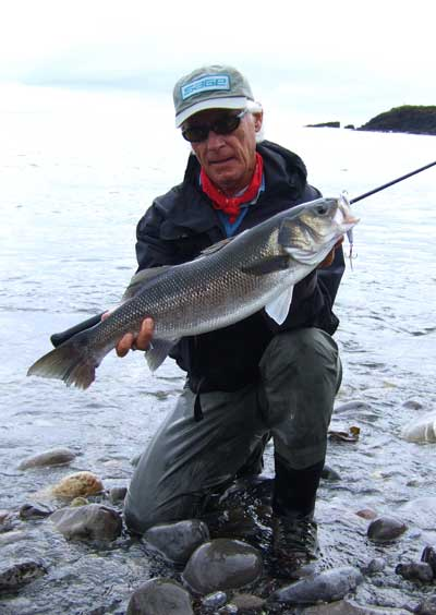 A Dutch tourist bass angler, County Wexford circa 2008.