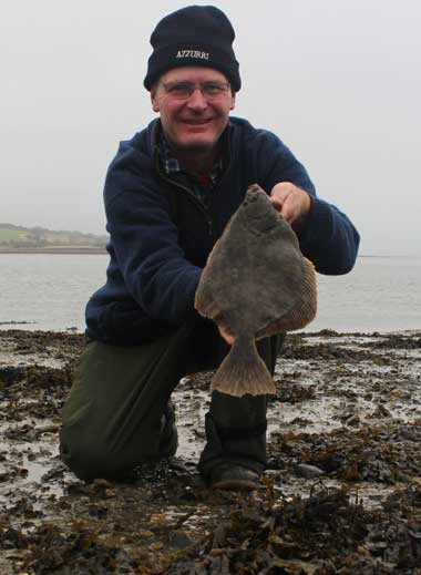 Estuary flounder from south east Ireland.