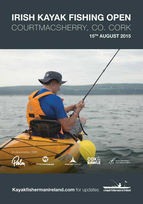 Irish Kayak Fishing Open August 15th 2015, Courtmacsherry, Co. Cork.