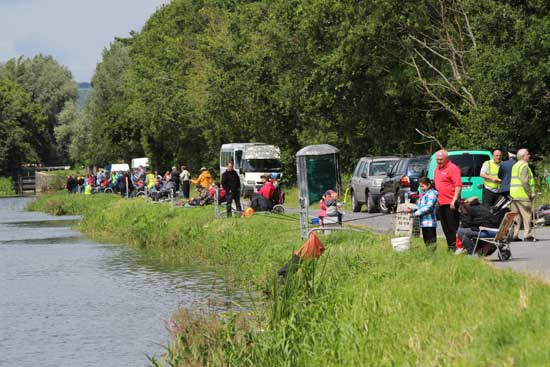 The annual Mick Lyons Memorial Coarse Angling Competition 2015, Bagnelstown, Co. Carlow.
