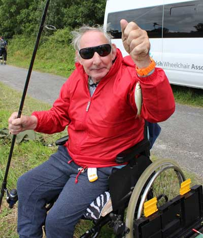Billy Black fishing his way to second place in the annual Mick Lyons Memorial Coarse Angling Competition 2015.