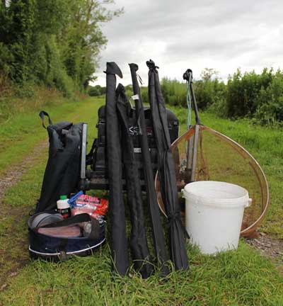 Coarse fishing in Ireland: Tackle and bait requirements.
