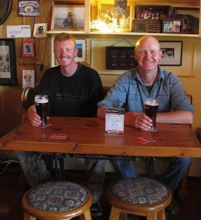Pints of Smithwicks, McCarthy's Bar, Castletownbere, West Cork, Ireland.
