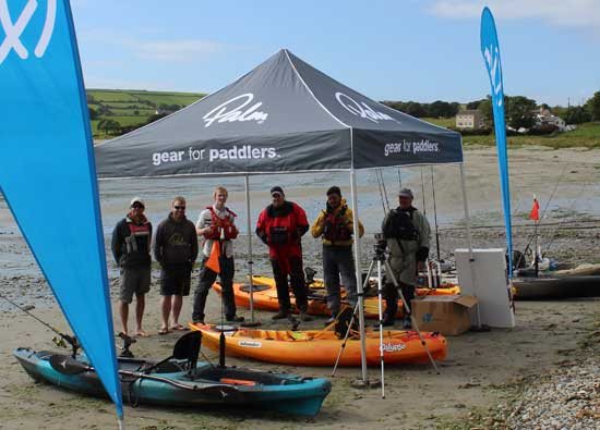 Irish Kayak Fishing Open 2015, Courtmacsherry, Co. Cork, Ireland.
