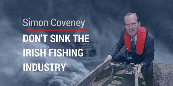 Ireland's Minister for the Marine, Simon Coveney.