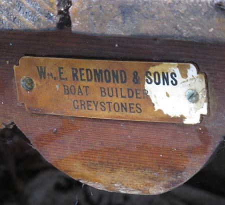 Willie Redmond, Boat Builder, Greystones, Co. Wicklow
